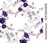 little floral seamless pattern...   Shutterstock .eps vector #1092604898