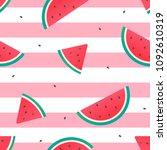 Watermelon Seamless Pattern...