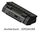 a laser printer toner cartridge ... | Shutterstock .eps vector #109264184