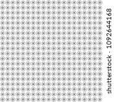 seamless abstract black texture ... | Shutterstock . vector #1092644168