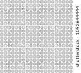 seamless abstract black texture ... | Shutterstock . vector #1092644444