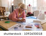 confident senior fashion...   Shutterstock . vector #1092650018