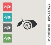 lemon   vector icon. symbol for ...