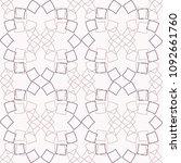ornate diamond pattern....   Shutterstock .eps vector #1092661760