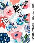 creative universal artistic... | Shutterstock .eps vector #1092678506