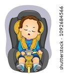 illustration of a kid boy...   Shutterstock .eps vector #1092684566