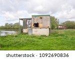 Derelict Riverside Cabin Shack
