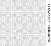 seamless abstract black texture ... | Shutterstock . vector #1092692558