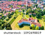 town of varazdin historic... | Shutterstock . vector #1092698819