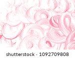 natural soap texture. alluring... | Shutterstock .eps vector #1092709808