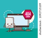 404 error page not found | Shutterstock .eps vector #1092715109