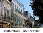 french quarter stroll  new...   Shutterstock . vector #1092725900