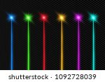 set of abstract colors laser... | Shutterstock .eps vector #1092728039