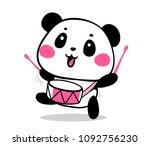 vector illustration of lovely... | Shutterstock .eps vector #1092756230