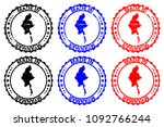 made in myanmar   rubber stamp  ...   Shutterstock .eps vector #1092766244