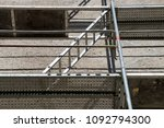 construction site. h frame type ... | Shutterstock . vector #1092794300