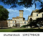 historic palace behind green... | Shutterstock . vector #1092798428