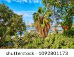 enjoy the lush greenery of... | Shutterstock . vector #1092801173
