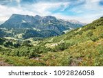 amazing view from top of... | Shutterstock . vector #1092826058