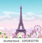 vector illustration of... | Shutterstock .eps vector #1092833750