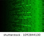 binary circuit board future... | Shutterstock .eps vector #1092844130
