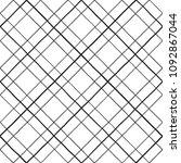 lattice  trellis  grating made... | Shutterstock .eps vector #1092867044