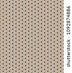 retro geometric pattern in...   Shutterstock . vector #1092874886