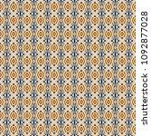 retro geometric pattern in... | Shutterstock . vector #1092877028