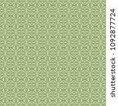 green geometric pattern in... | Shutterstock . vector #1092877724
