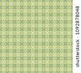 green geometric pattern in... | Shutterstock . vector #1092878048