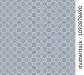 retro geometric pattern in... | Shutterstock . vector #1092878690