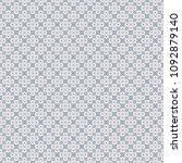 retro geometric pattern in... | Shutterstock . vector #1092879140