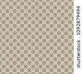 retro geometric pattern in... | Shutterstock . vector #1092879494