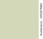green geometric pattern in... | Shutterstock . vector #1092879884