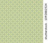 green geometric pattern in... | Shutterstock . vector #1092882524