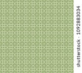 green geometric pattern in... | Shutterstock . vector #1092883034