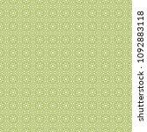 green geometric pattern in... | Shutterstock . vector #1092883118