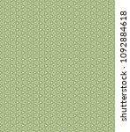 green geometric pattern in... | Shutterstock . vector #1092884618