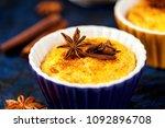 brazilian sweet custard like... | Shutterstock . vector #1092896708