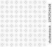 seamless abstract black texture ... | Shutterstock . vector #1092924608