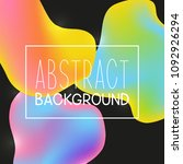 abstract background with color... | Shutterstock .eps vector #1092926294