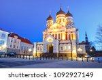 russian orthodox alexander... | Shutterstock . vector #1092927149