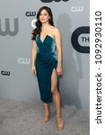 Small photo of New York, NY - May 17, 2018: Jeanine Mason wearing dress by Cushnie et Ochs attends 2018 CW network Upfront at London Hotel