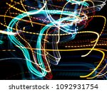 color magic line. abstract... | Shutterstock . vector #1092931754