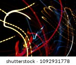color magic line. abstract... | Shutterstock . vector #1092931778
