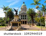 Durban City Hall With The War...