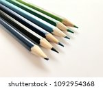 color of crayons | Shutterstock . vector #1092954368
