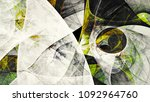 abstract green  grey and white... | Shutterstock . vector #1092964760