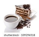 Coffee And Chocolate Dessert...
