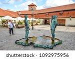prague  czech republic  ...   Shutterstock . vector #1092975956